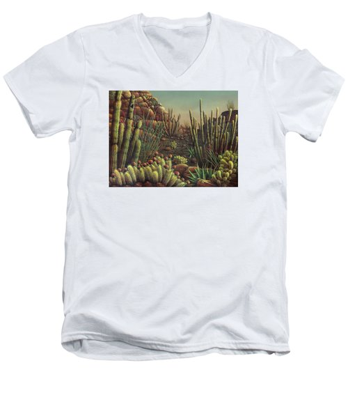 Desert Potpourri  Men's V-Neck T-Shirt