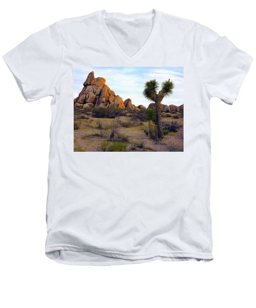Desert Soft Light Men's V-Neck T-Shirt