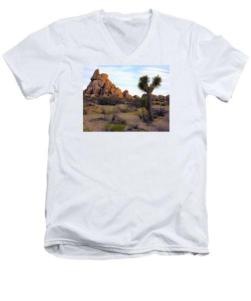 Desert Soft Light Men's V-Neck T-Shirt