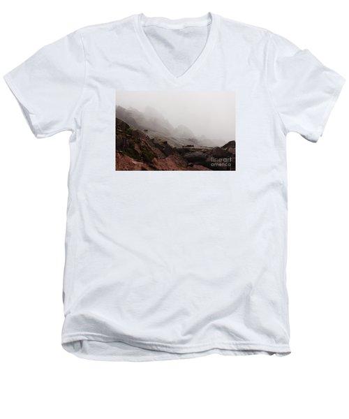 Still Untouched By Men Men's V-Neck T-Shirt