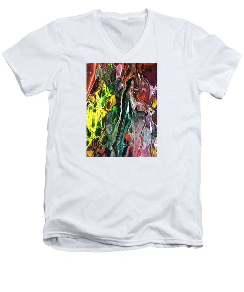 Detail Of Auto Body Paint Technician 5 Men's V-Neck T-Shirt