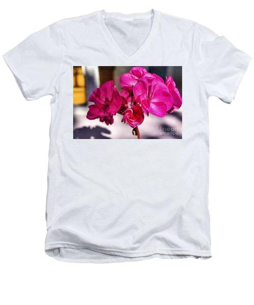 Details In Pink  Men's V-Neck T-Shirt