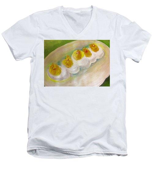 Devilled Eggs Men's V-Neck T-Shirt