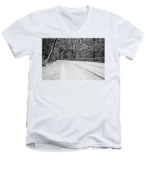 Dicksons Mill Road Men's V-Neck T-Shirt