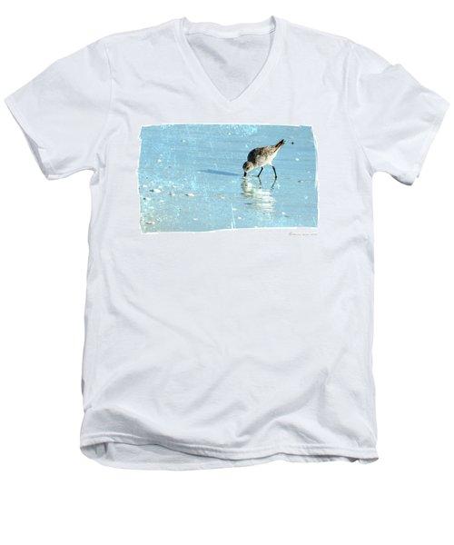 Dig In Men's V-Neck T-Shirt