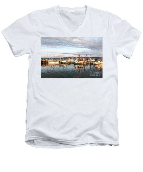 Digby Harbour Men's V-Neck T-Shirt