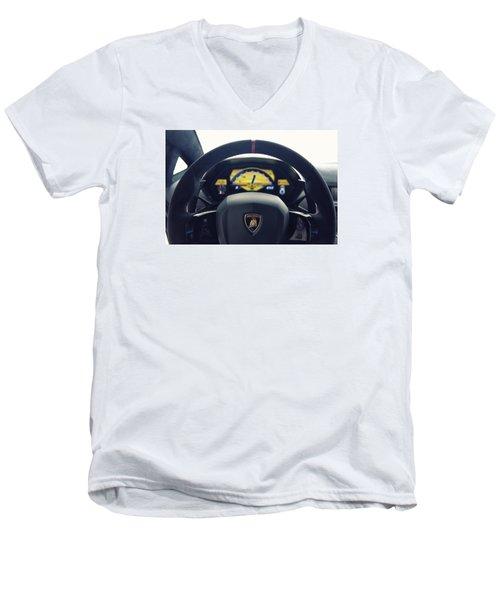 Digital Age Men's V-Neck T-Shirt