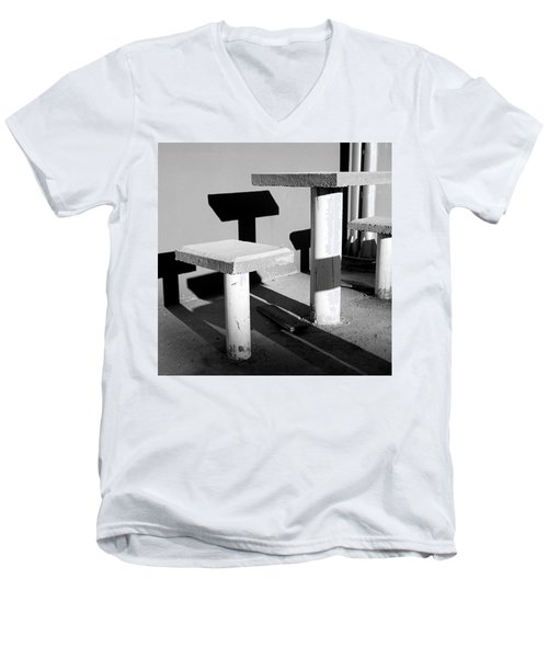 Square To Square 2009 1 Of 1 Men's V-Neck T-Shirt