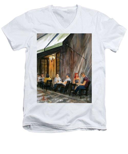 Dinning L'fresco Men's V-Neck T-Shirt