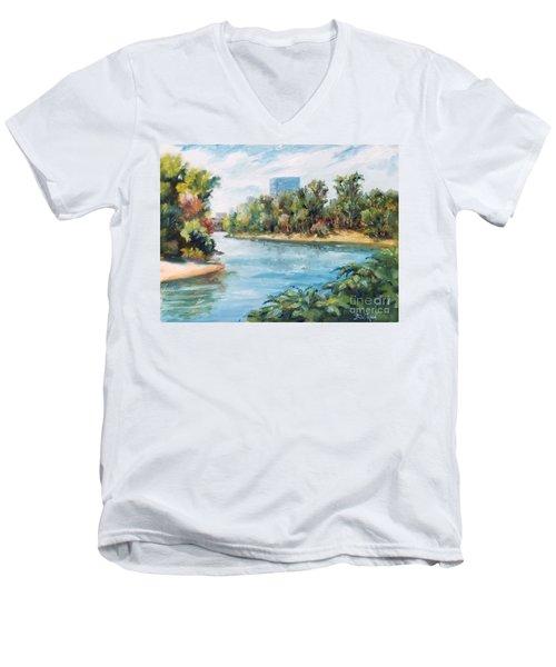Discovery Park Men's V-Neck T-Shirt