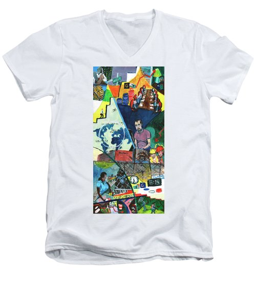 Disparity Men's V-Neck T-Shirt