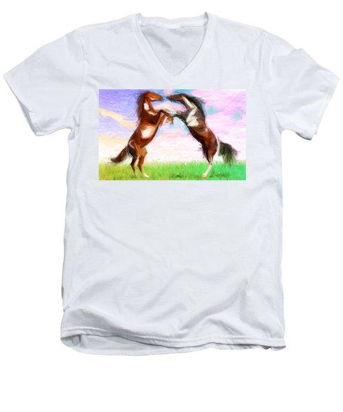 Dispute Men's V-Neck T-Shirt