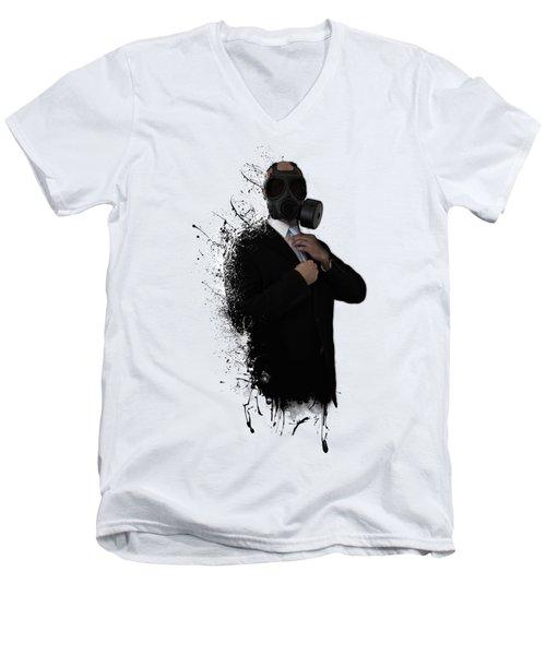 Dissolution Of Man Men's V-Neck T-Shirt