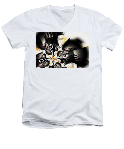 Disturbing Men's V-Neck T-Shirt
