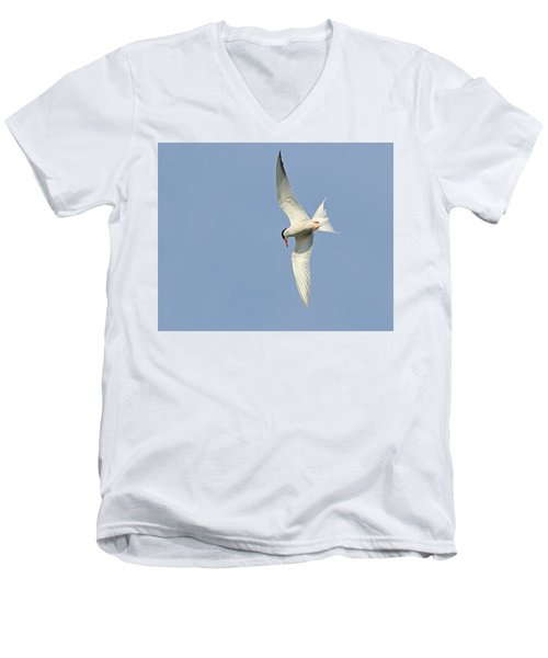 Men's V-Neck T-Shirt featuring the photograph Dive by Tony Beck