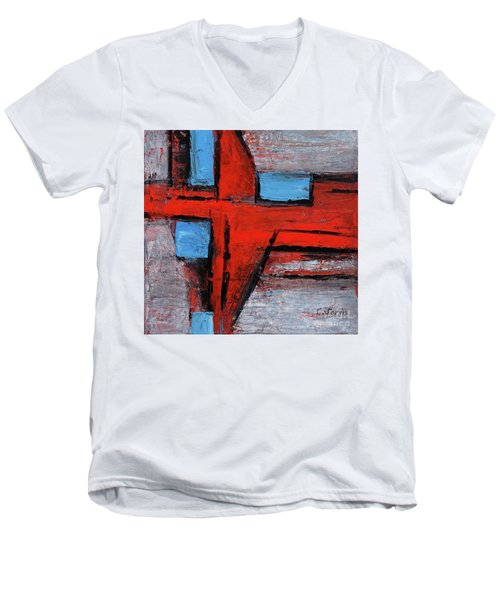 Divergence Men's V-Neck T-Shirt