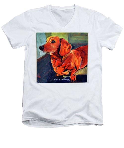 Dixie Doodle Men's V-Neck T-Shirt
