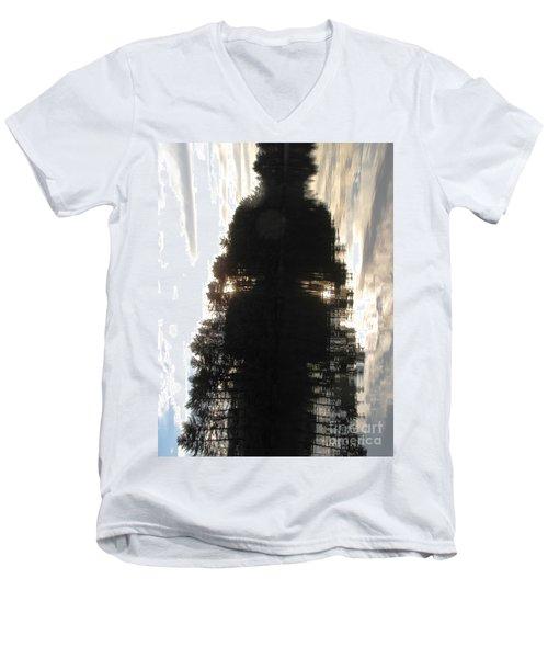 Do You See? Men's V-Neck T-Shirt by Melissa Stoudt