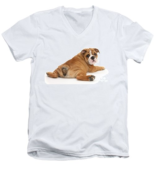 Does My Bum Look Big In This? Men's V-Neck T-Shirt