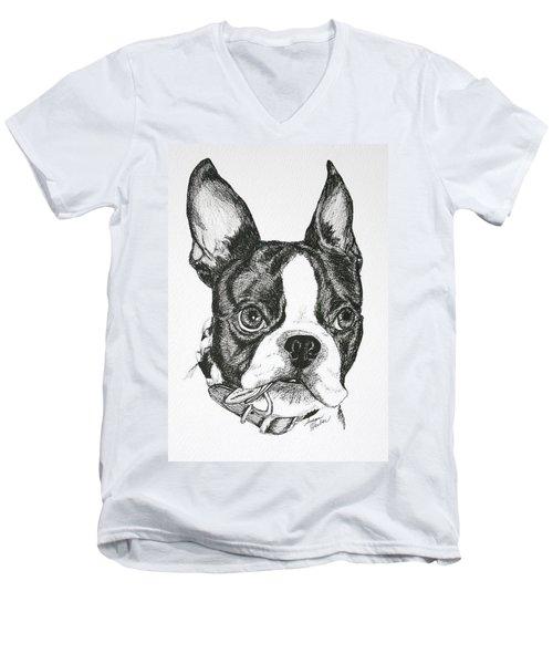 Dog Tags Men's V-Neck T-Shirt