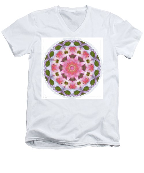Dogwood Energy Mandala Men's V-Neck T-Shirt