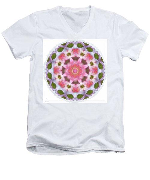 Dogwood Energy Mandala Men's V-Neck T-Shirt