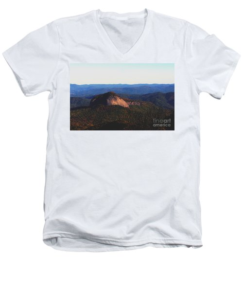 Men's V-Neck T-Shirt featuring the photograph Dome Top by Debra Crank