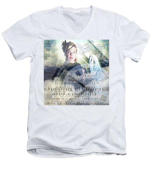 Domestic Considerations Men's V-Neck T-Shirt