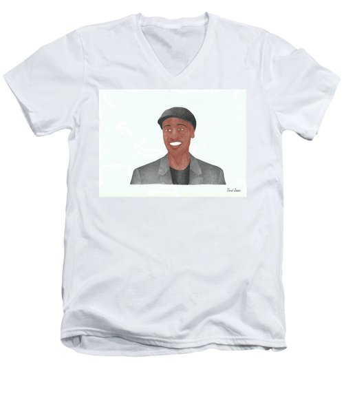 Don Cheadle Men's V-Neck T-Shirt