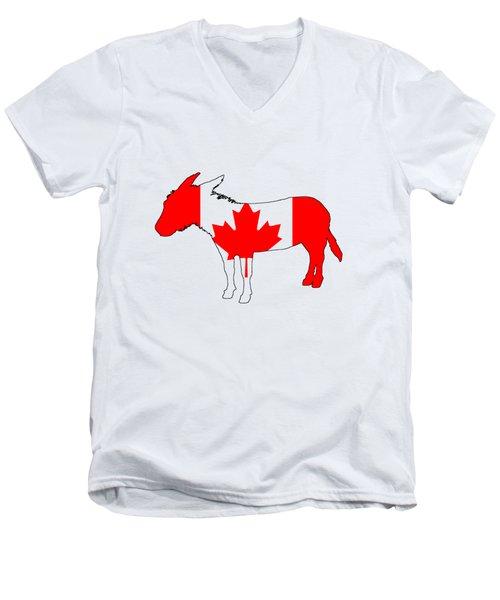 Donkey Canada Men's V-Neck T-Shirt
