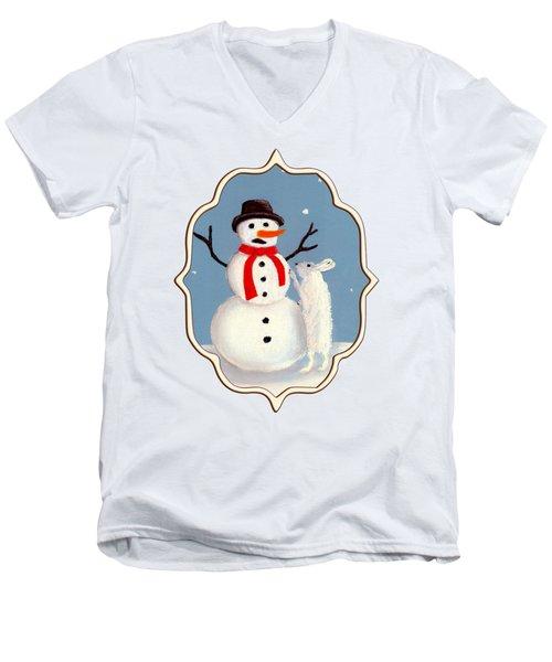 Don't Eat My Nose Men's V-Neck T-Shirt