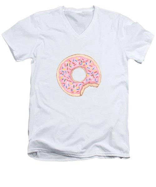 Donut Men's V-Neck T-Shirt