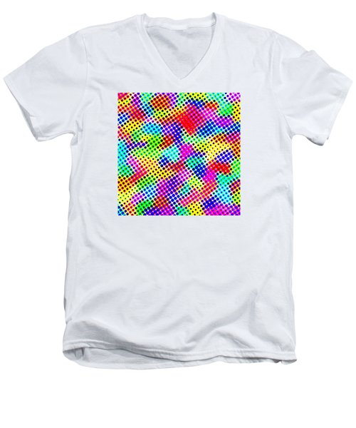 Dotty Men's V-Neck T-Shirt