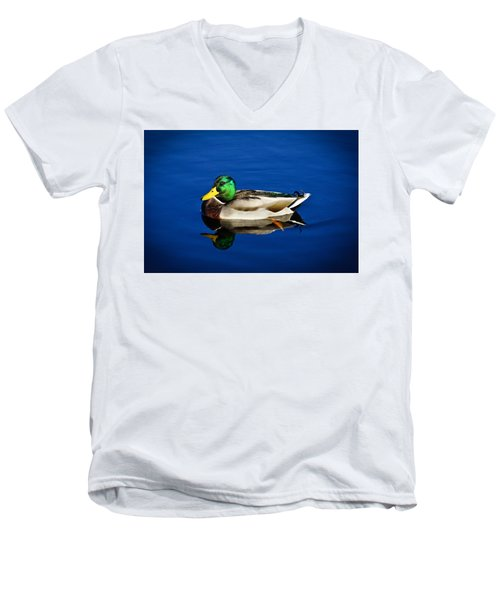 Double Duck Men's V-Neck T-Shirt