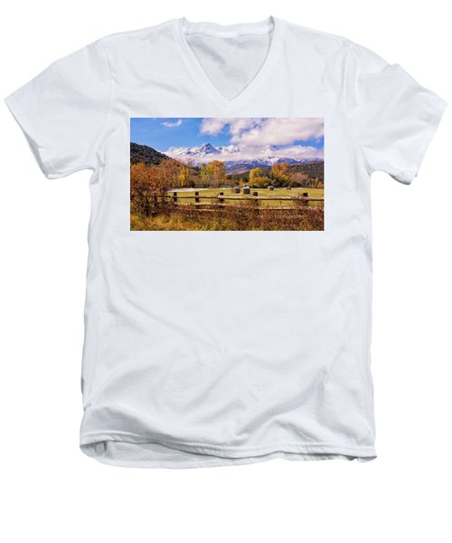 Double Rl Ranch Men's V-Neck T-Shirt