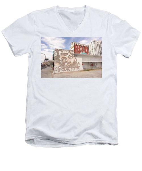 Downtown After Men's V-Neck T-Shirt