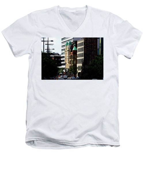 Downtown Belfast Men's V-Neck T-Shirt