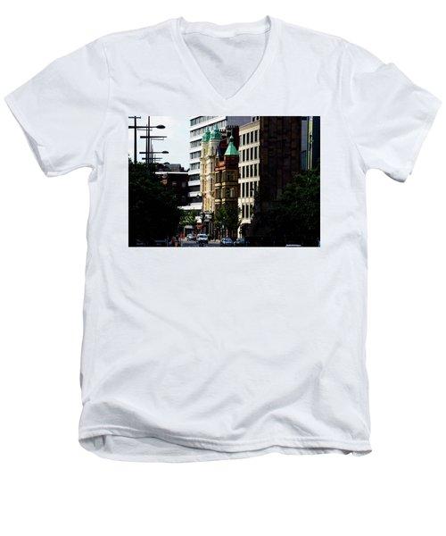Downtown Belfast Men's V-Neck T-Shirt