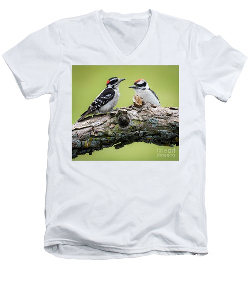 Downy Love Men's V-Neck T-Shirt