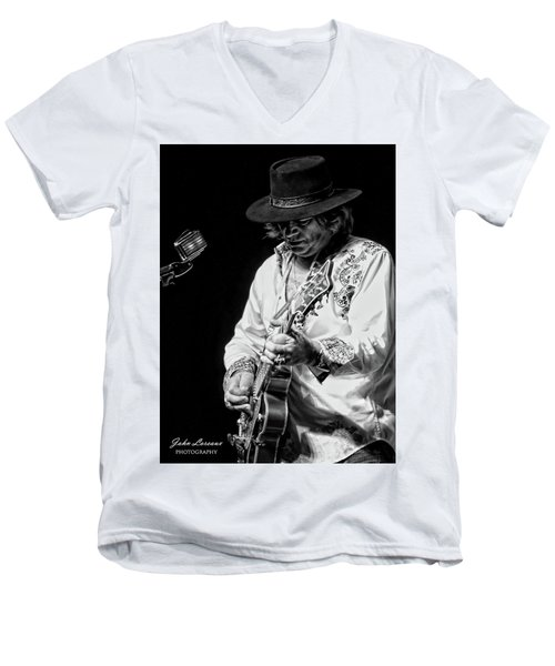 Dr. Phil Bw Men's V-Neck T-Shirt by John Loreaux