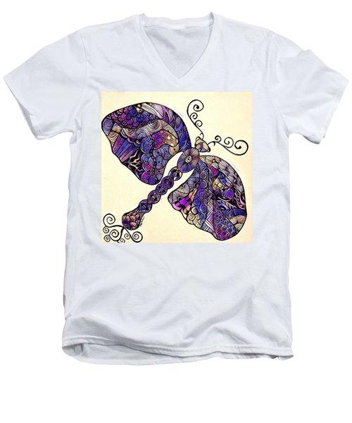 Dragon Fantasy 2 Men's V-Neck T-Shirt