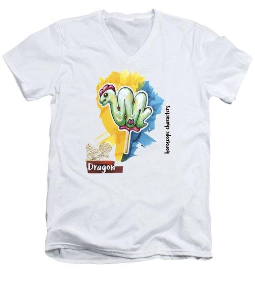 Dragon Horoscope Men's V-Neck T-Shirt
