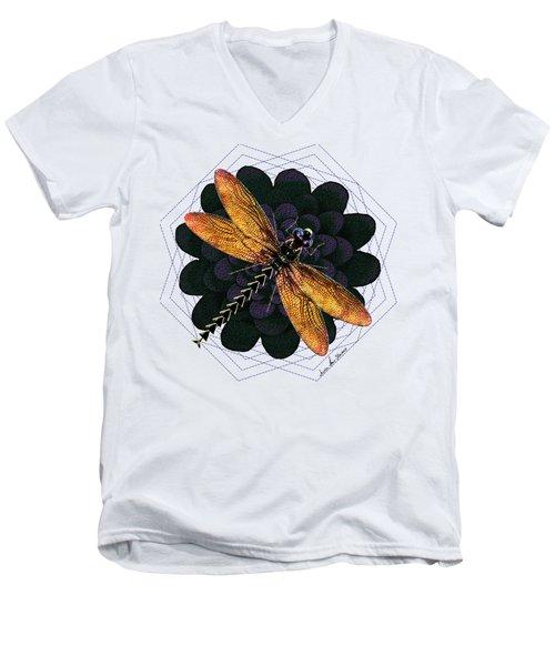 Dragonfly Snookum Men's V-Neck T-Shirt