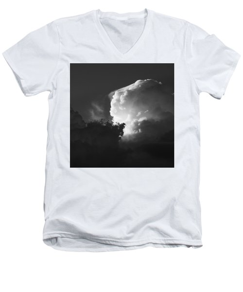 Drama In A Western Sky Men's V-Neck T-Shirt