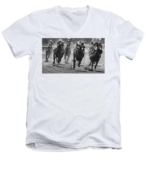 Drama Men's V-Neck T-Shirt