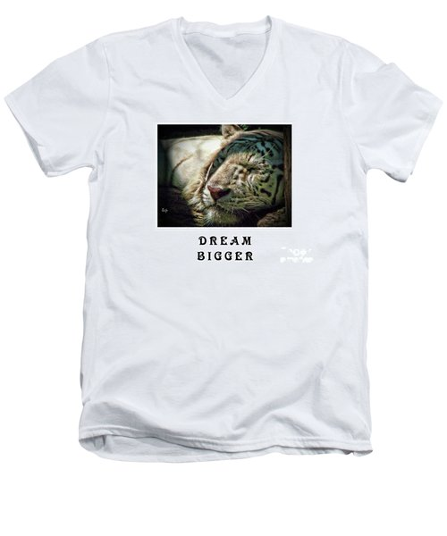 Dream Bigger Men's V-Neck T-Shirt