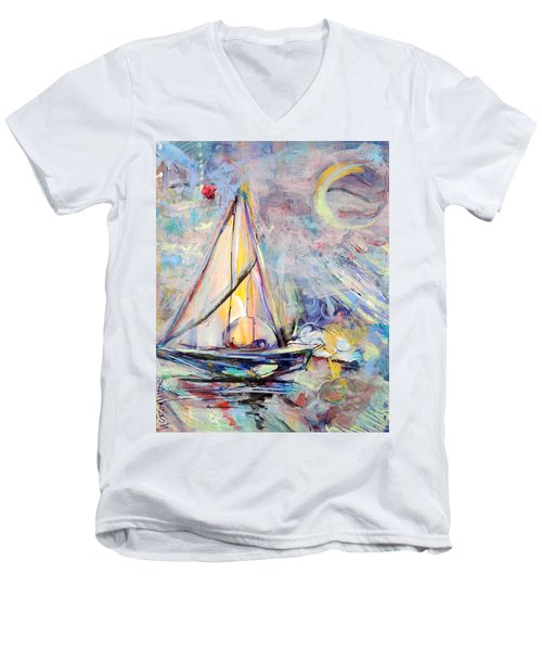 Dream Boat Men's V-Neck T-Shirt