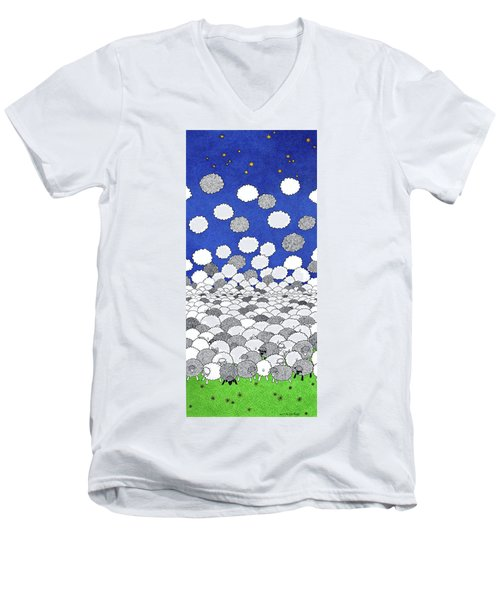 Dreamfield Men's V-Neck T-Shirt