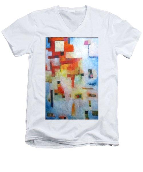 Dreamscape Clouds Men's V-Neck T-Shirt