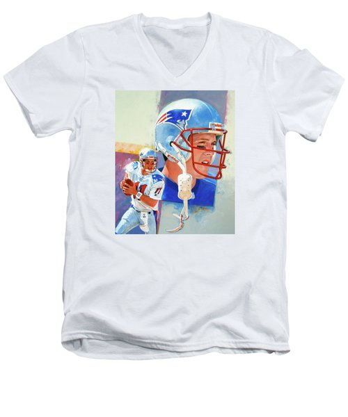 Drew Bledsoe Men's V-Neck T-Shirt